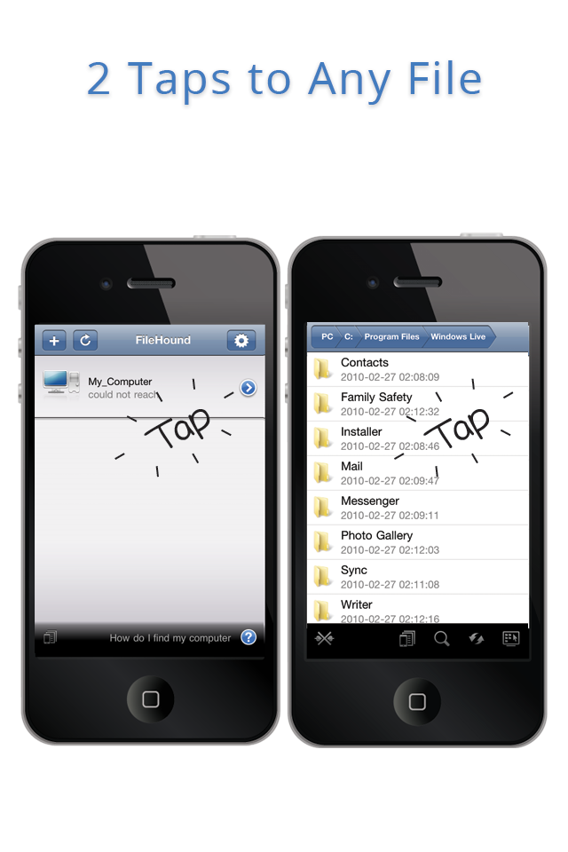FileHound screenshot 4