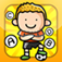 ABC Soccer learning game for children: Word spelling of the football world